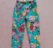 Утеплённые штаны для девочки , новые