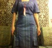 Новое платье летнее натуральный хлопок