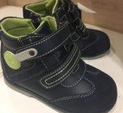 Ботинки для мальчика темно-синие