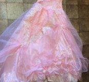 Бальное платье в пол