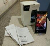 Sony Xperia J st26i, полный комплект