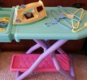 Детский утюг и гладильная доска