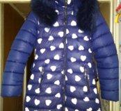 Красивое пальто в отличном состоянии