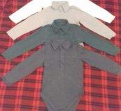 Рубашки-боди 2-3 года