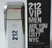 Carolina Herrera 212 VIP Men 100мл