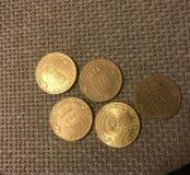Коллекционные 10 рублей