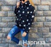 Новая шикарная куртка звезды демисезон 42,44р