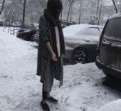 кардиган+шарф