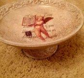 Блюдо декоративное ангел