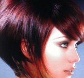 Покраска волос, подравнивание волос