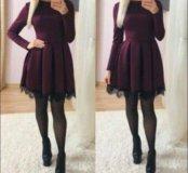 Платье новое дайвинг