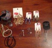 Бижутерия, сумочка и клатч 👛