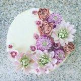 Сахарные цветы и фигурки