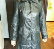 Пальто из нат.кожи
