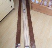 Карниз для штор потолочный 3-рядный прямой 2,4 м