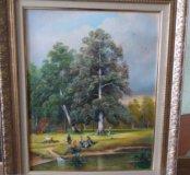 """Картина """"Дубок"""", 40×50, холст, масло"""