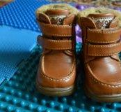 зимние ботинки р. 20