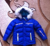 горнолыжная куртка размер 104 детская 3-4 года