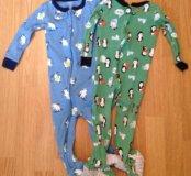 Пижамы картерс, размер 18м