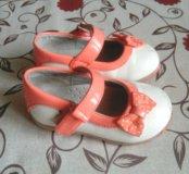 Туфельки лаковые