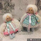 Текстильная кукла ручной рабоьы