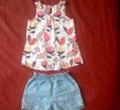 Блузка и шорты GJ ( 92-98)