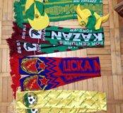 Футбольный шарф, кепки