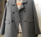 Пальто для девочки Zara 140