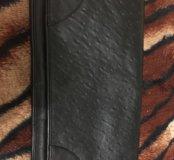 Клатч сумка кожаная натуральная