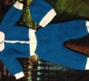 Вязаный костюмчик от 6 до 9 месяцев