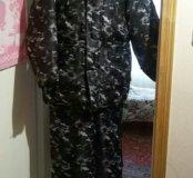 Костюм болоневый камуфляжный мужской