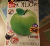 Зеленое яблоко ( набор для шитья)