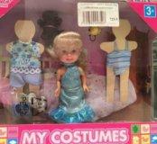 Кукла Паола с гардеробом