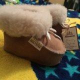 Ботиночки из овчины