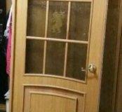 Межкомнатная дверь со стеклом полный комплект