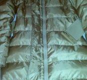 Пуховое пальто Benetton . Куртка . Пуховик