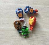 Мстители(игрушки киндер)