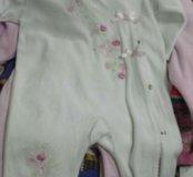 Много детской одежды от 2-3 месяцев