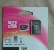 Флешка micro sd/sd Sony 32 gb