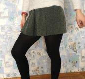 Юбка шорты Bershka тёплые