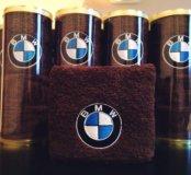 Махровое полотенце БМВ/BMW