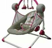 Качели для малышей с автомаятником