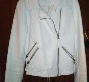 Куртка для модниц, кожаная новая!