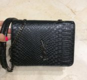 Новая сумка через плечо под крокодила YSL