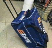 Баул хоккейный на колесах
