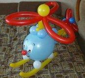 Вертолетик из шаров
