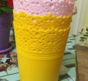 Цветочный горшок/вазочки для мелочей
