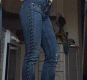 Джинсы оригинал, стильные, джинсы 24