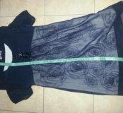 Новое платье шелк Lafer, Франция