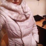 Куртка курточка тёплая пуховая